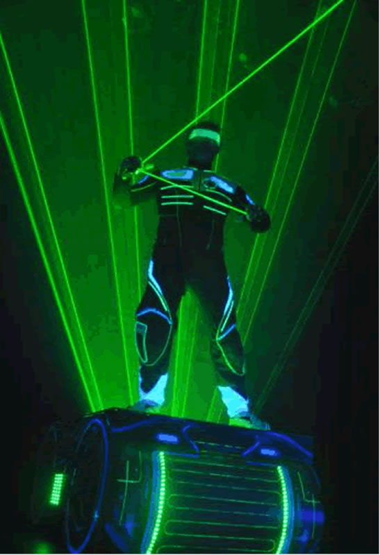 Laser Pilar